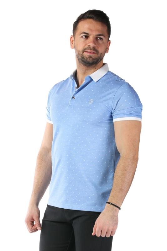 Imagine Tricou bleu P1199923S-1