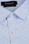 Imagine Camasa slim bleu cu stelute 9730-24