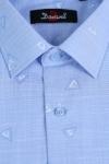 Imagine Camasa cu maneca scurta bleu 725