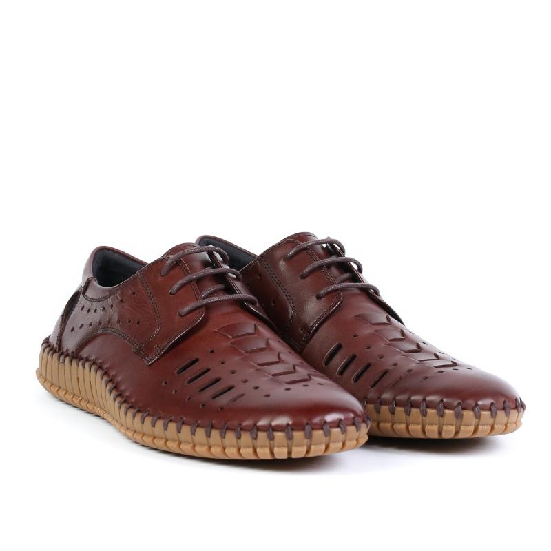 Pantofi brown F212-8A-A122