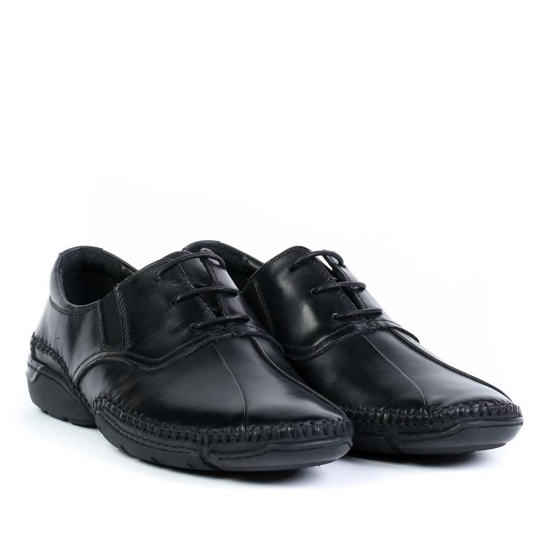 Pantofi black F323-5A-H562