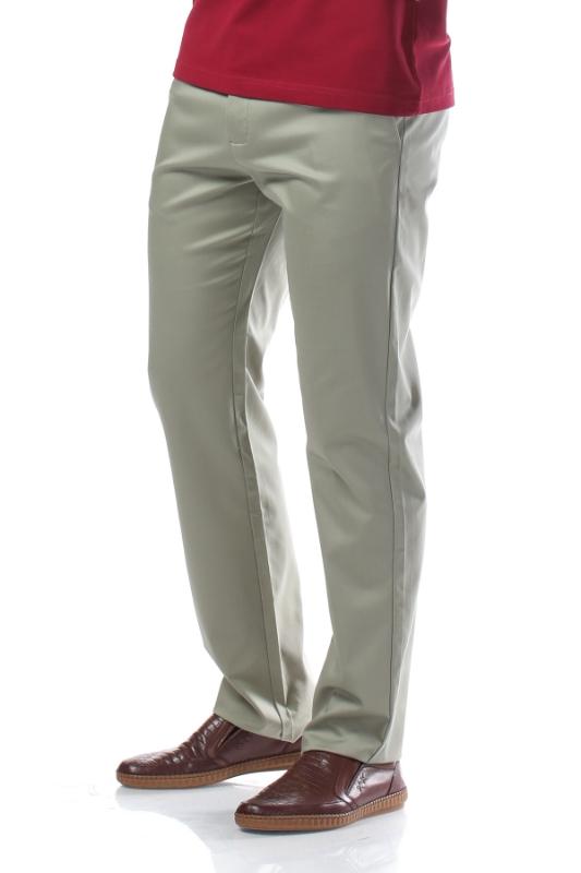 Imagine Pantaloni verde deschis R882-5
