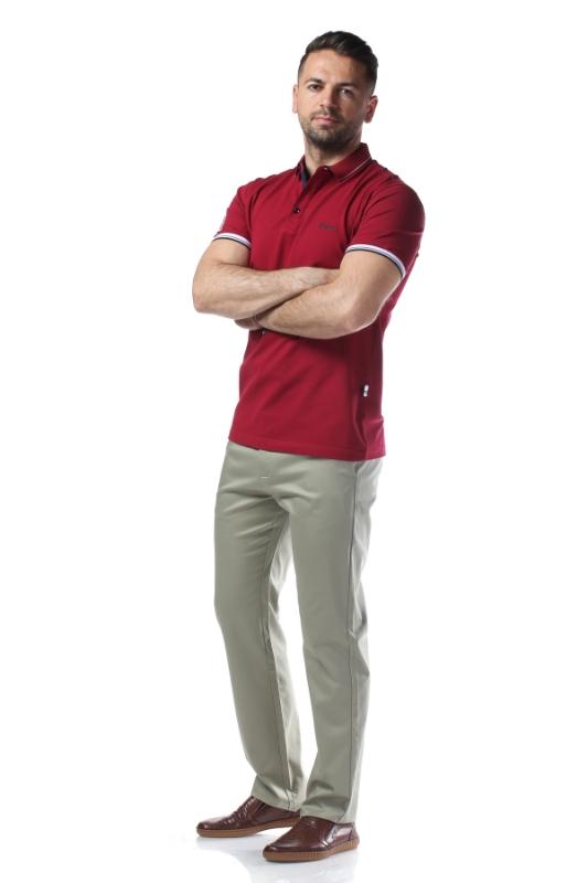 Pantaloni verde deschis R882-5