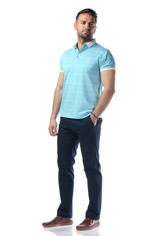 Pantaloni bleumarin R885-7