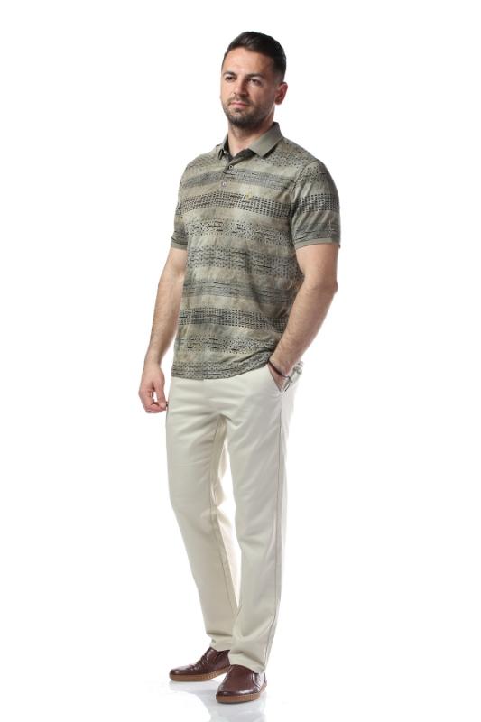 Pantaloni crem R887-1