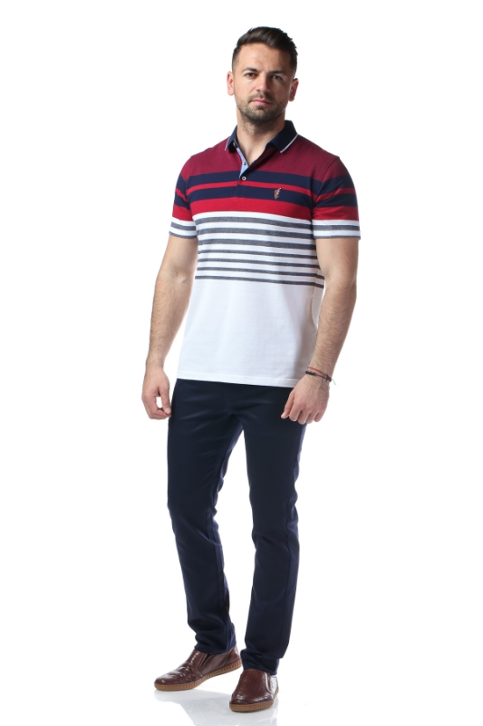 Pantaloni bleumarin S883-3