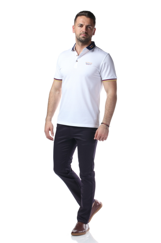 Tricou alb P1199915S-1