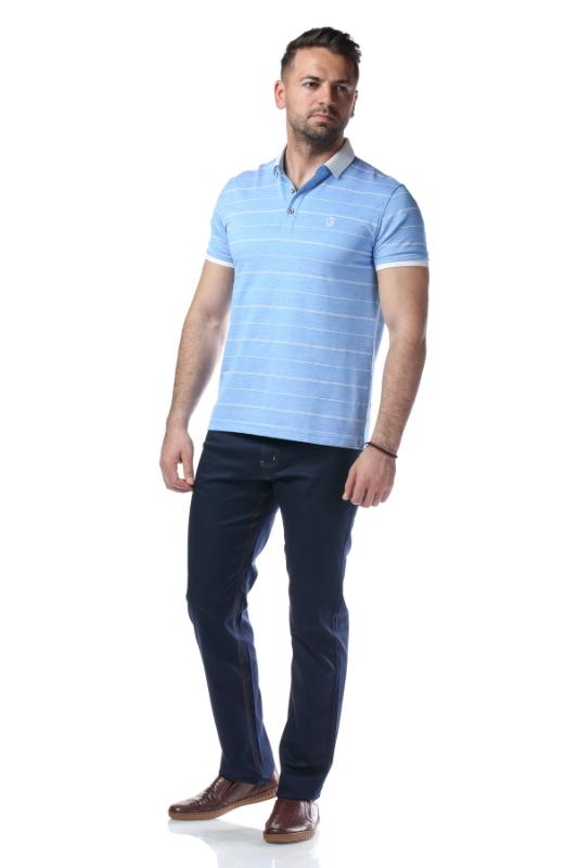 Tricou bleu P1199924S-3