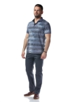 Imagine Tricou bleu W119P02S-1