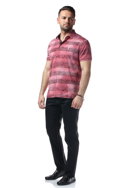 Tricou roz W119P02S-2