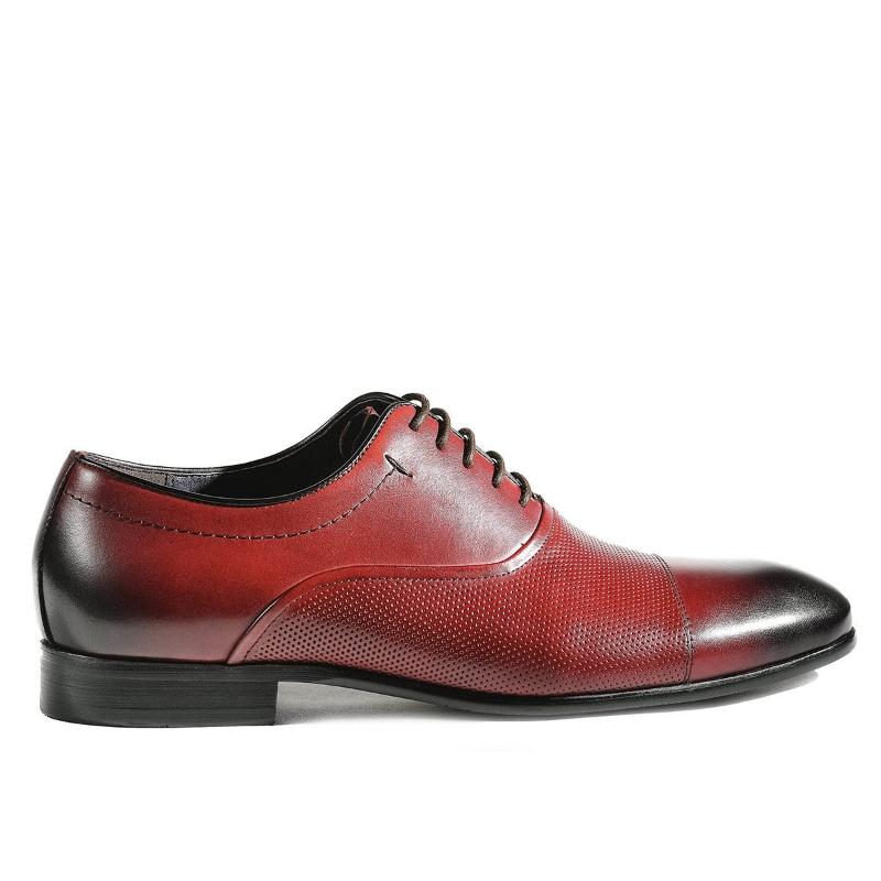Pantofi Red wine 003-021 F1