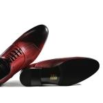 Pantofi Red wine 003-021 F3