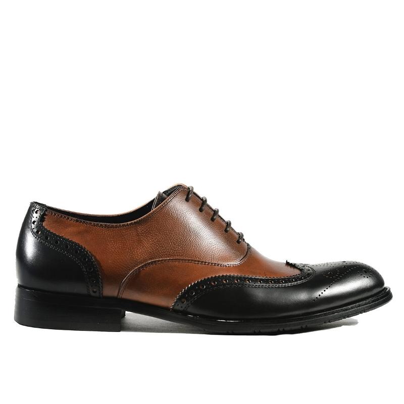 Pantofi Brown F8868-5 F1