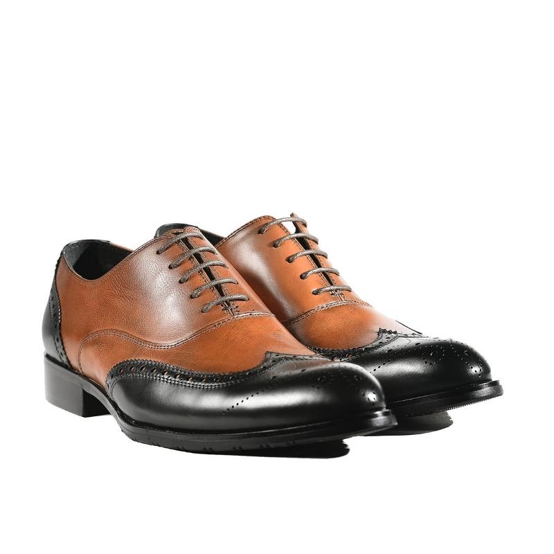 Pantofi Brown F8868-5