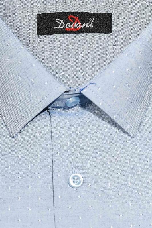 Camasa clasica bleu cu buline 9710-4