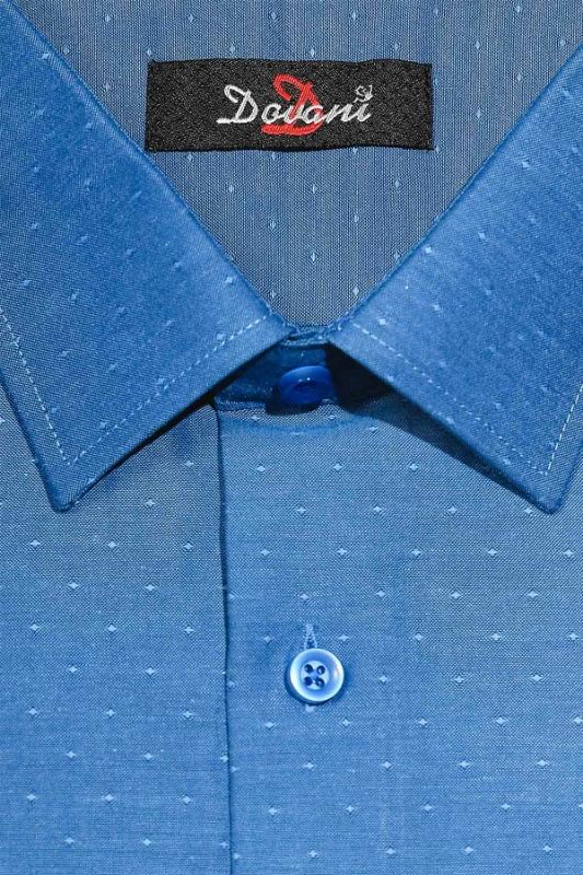 Camasa clasica albastru inchis cu buline 9710-8