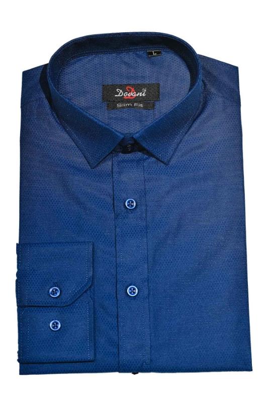 Camasa slim albastra 9731-6 F1
