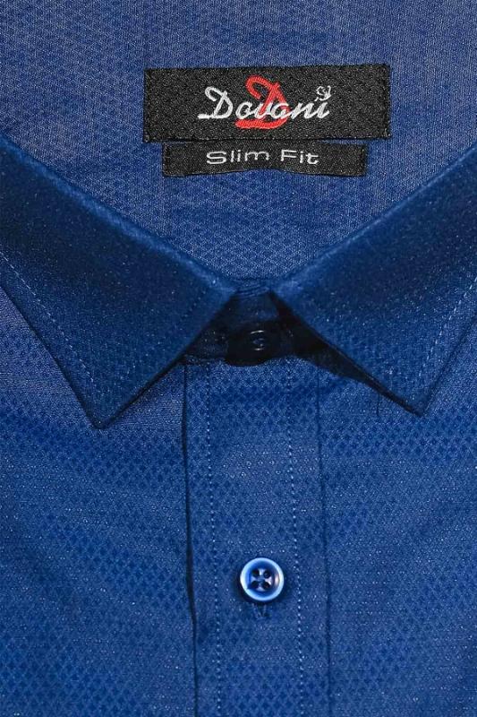 Camasa slim albastra 9731-6