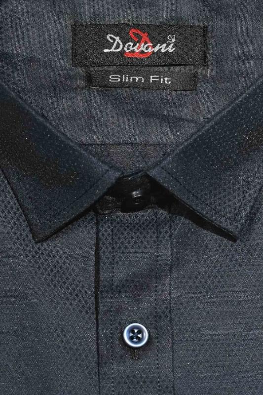 Camasa slim bleumarin 9731-8