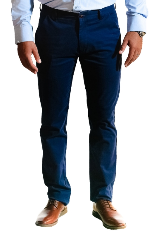 Pantaloni albastri 8752-2 F1