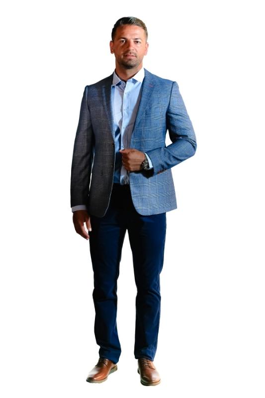 Pantaloni albastri 8752-2