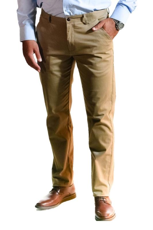 Pantaloni bej 8752-3 F1