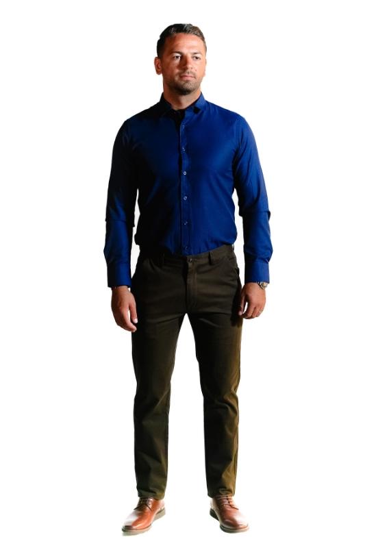 Pantaloni maro 8752-4