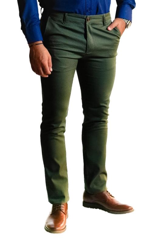 Pantaloni kaki S907-7 F1