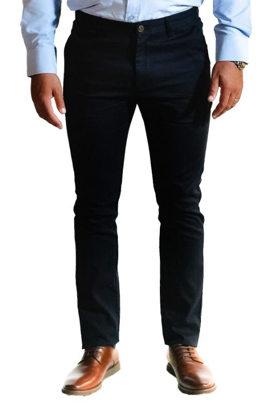 Pantaloni bleumarin S907-9 F1