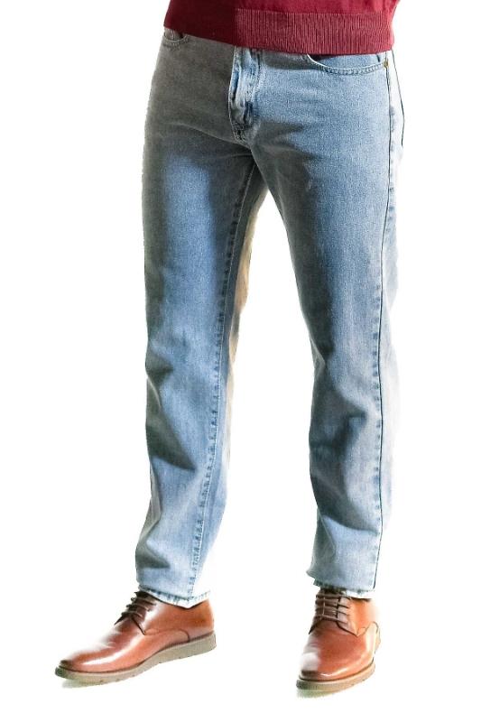 Pantaloni blug bleu 060-1 F1