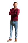 Pantaloni blug bleu 060-1 F2