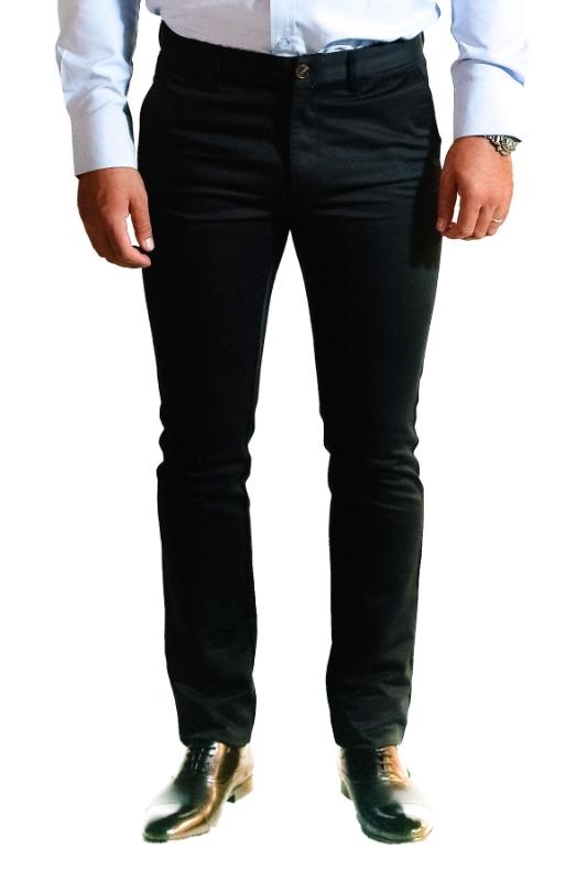 Pantaloni negri S906-8 F1