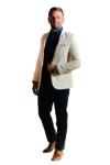 Pantaloni bleumarin deschis R904-7 F2