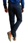 Pantaloni bleumarin deschis R904-7 F3