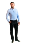 Pantaloni bleumarin R904-9 F2