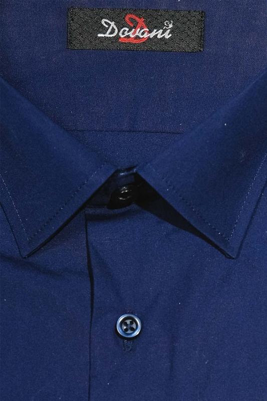 Camasa clasica bleumarin James