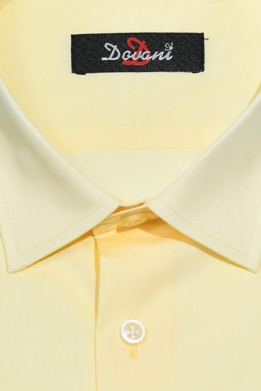 Camasa clasica galben James