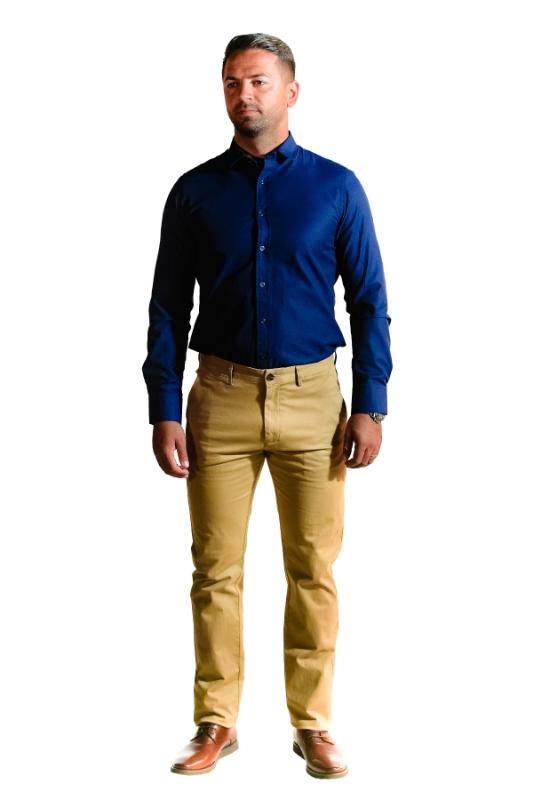 Pantaloni bej R902-8