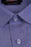Camasa slim bleu inchis 005-0566 F2