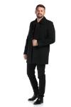 Palton negru 1906-1 F2