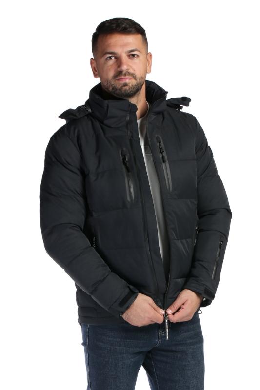 Geaca neagra 9365 F1