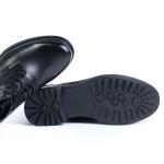 Ghete black AY1807-6A05-6R F3