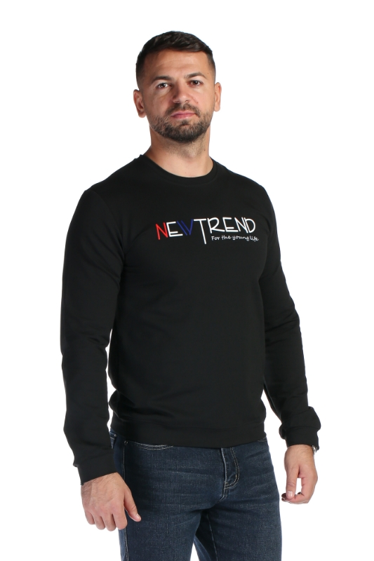 Tricou negru 1820-1 F1