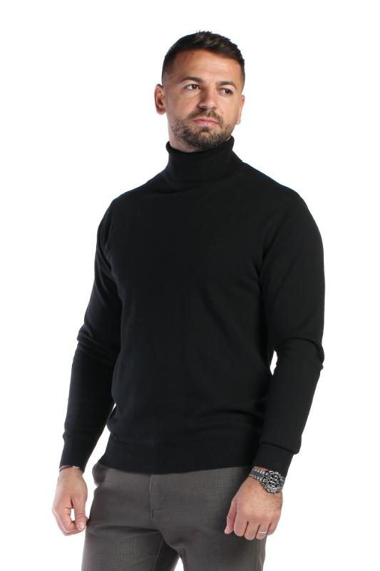 Pulover negru 208-2 F1