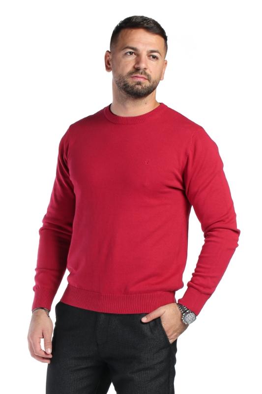 Pulover rosu 204-3 F1
