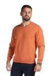 Pulover portocaliu 206-2 F1