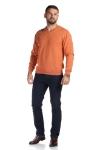 Pulover portocaliu 206-2 F2