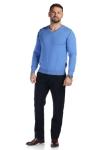 Pulover albastru 206-4 F2
