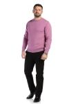 Pantaloni maro inchis spre negru R910-5 F2