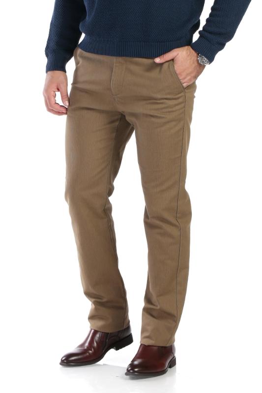 Pantaloni maro deschis R913-4 F1